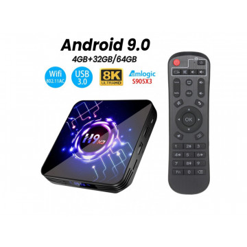 Android TV BOX H9-X3 4GB...
